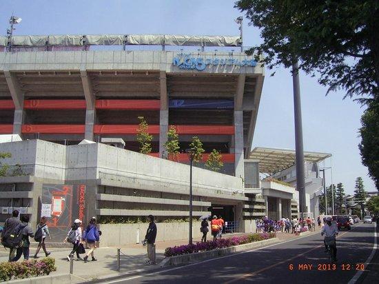 NACK5 Stadium Omiya: 大きなスタジアムです。