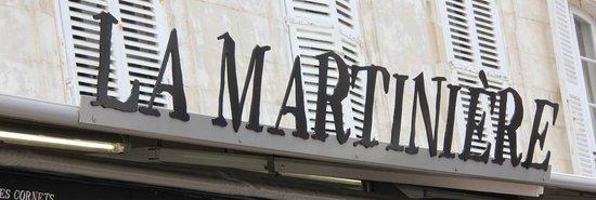 La Martinière : Enseigne de St Martin