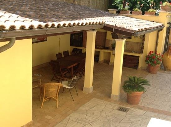 Villa Paganini B&B: Sala Breakfast esterna