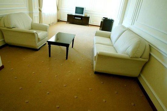 Samal Aktau Hotel: Номер люкс, гостиная