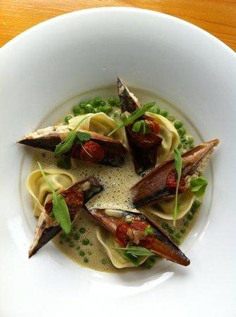 Wild Caraway: Mackerel Entree - Delicious!!