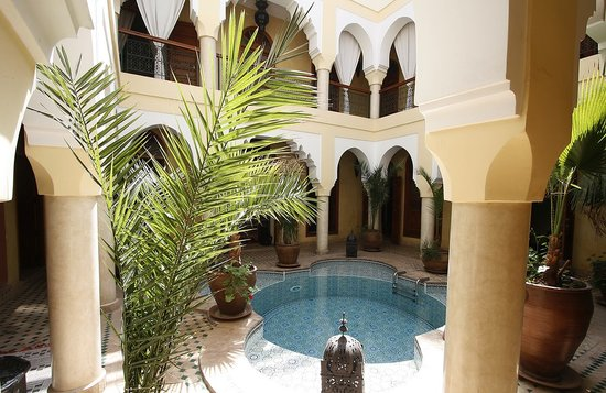 Riad Lena & SPA: patio