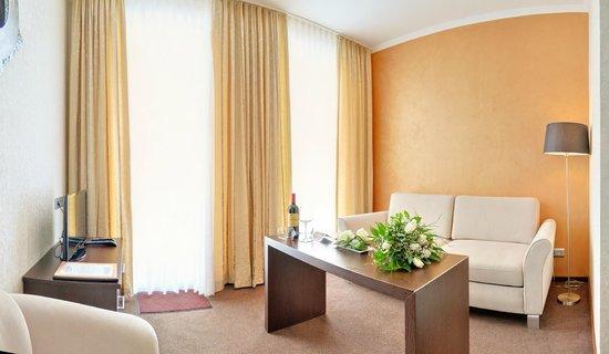 Vakantiehotel Der Brabander: Seating area wellness suite