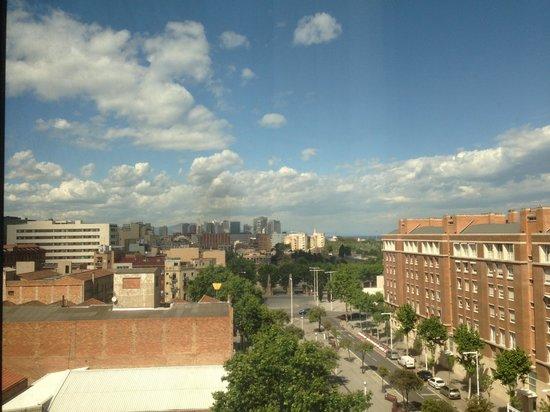 Hotel SB Icaria Barcelona: Windowview