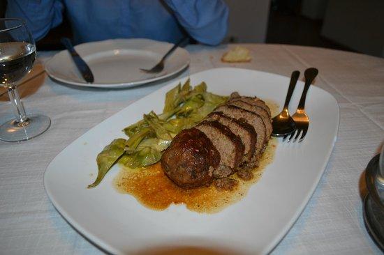 Tenuta la Santissima: Delicious Pork dish