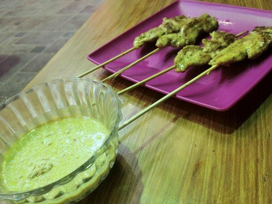 Chopsticks: Chicken Satay
