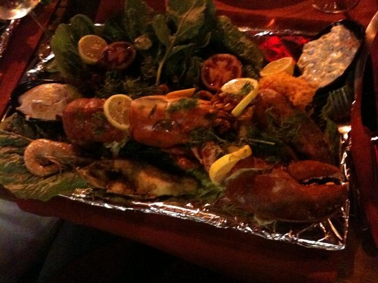 Deniz Restaurant: Mix sea food with lopster