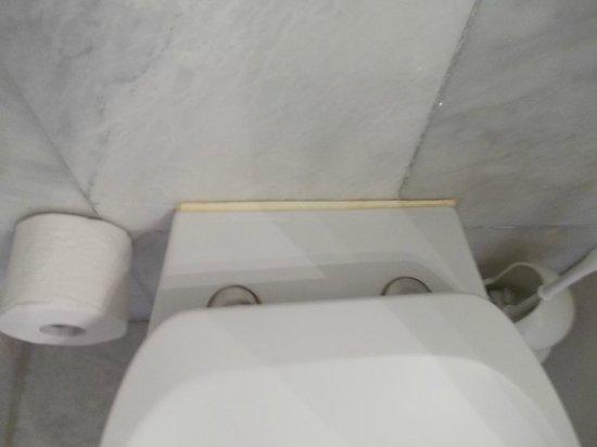 Hotel Bargenturm: Als ehemalige Hausdame weiß man, wo man schauen muss - wie die Toilette so......