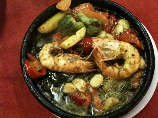 Deniz Restaurant: Prawn grill