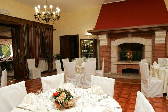 Parco degli Ulivi: la sala interna molto intima