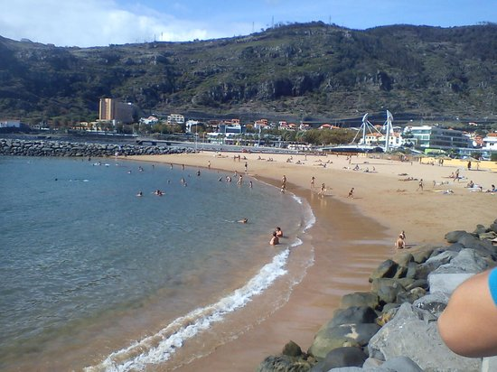One Of The Two Best Beaches In Madeira Review Praia De Machico Portugal Tripadvisor