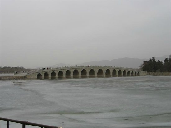 Beijing Private One-day Tour Guide AnnieLi: Seventeen-Arch Bridge