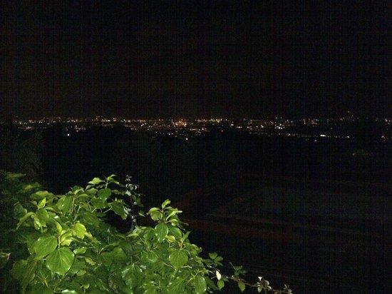 Parco degli Ulivi: panorama notturno