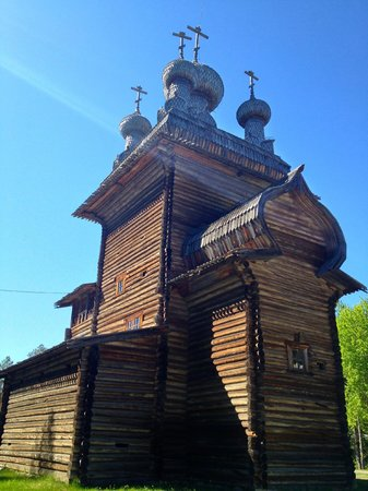 Malye Karely Open Air Museum: chapel