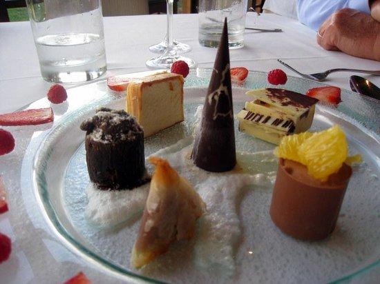 Buitenverwachting Restaurant: Chocolate plate
