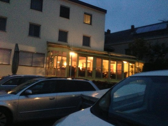 Das Reinisch Hotel: The SunRoom/ Terrace