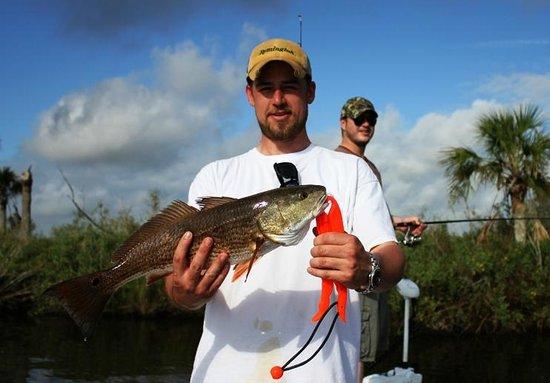 Captain Eric Greenstein Ins Fishing Charters Redfish Daytona Beach Charter