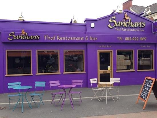 Outside sanchans picture of sanchans beeston tripadvisor for Food bar beeston