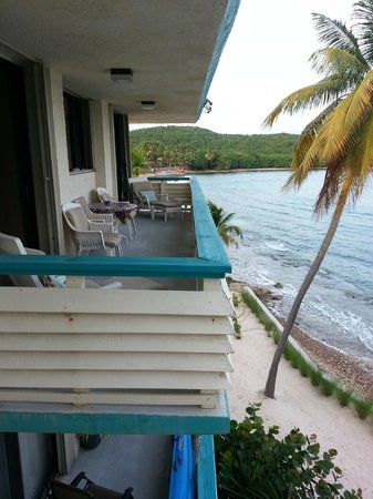 Bolongo Bay Beach Resort: Photo from Bolongo Bay Condo Balcony