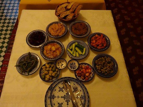 Dar Fes Medina : before the main course