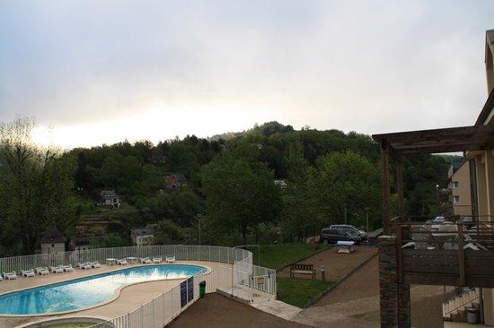 Résidence Les Gorges de la Truyère : vue du balcon