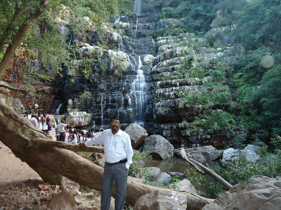 Dr Motha at Bottom of the falls of Talkona - Picture of ...