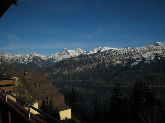 Zeit & Traum Hotel: Super Aussicht auf die Jungfrau und Niesen-Stockhorn