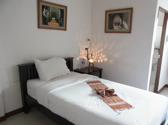 Baan Klang Vieng Hostel: Singleroom