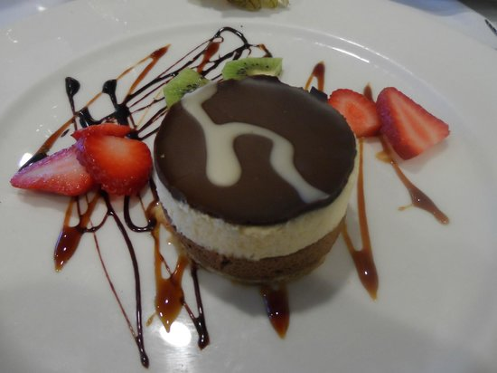 Restaurant Ca'n Josep: Triple Choc Mousse
