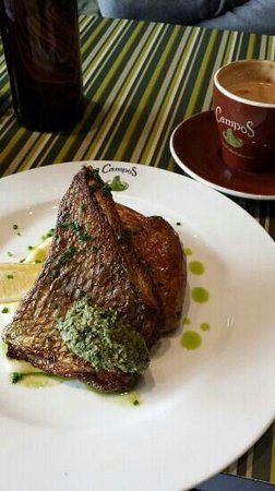 Campos Coffee : Delicious Pan Fried Snapper