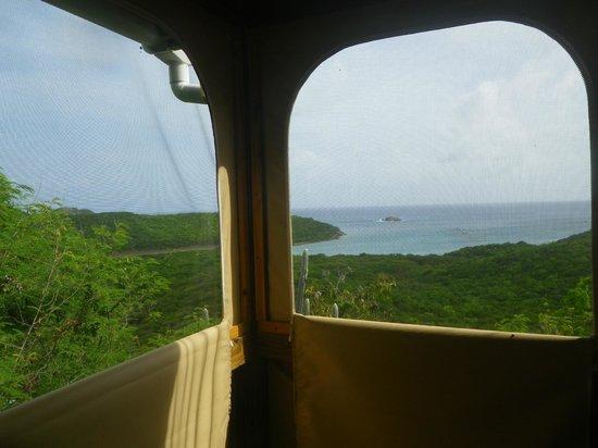 Concordia Eco-Resort: Views from E-21 bathroom