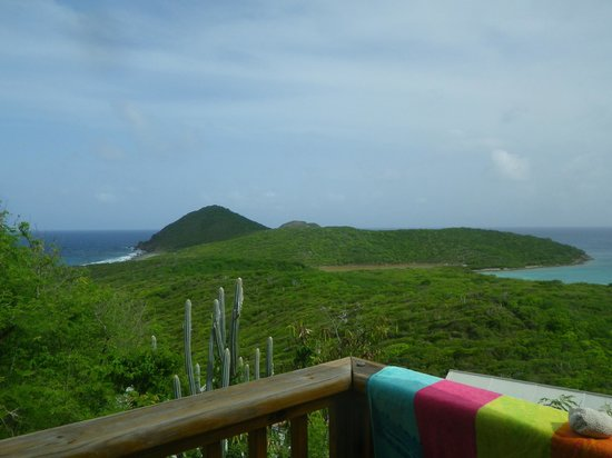 Concordia Eco-Resort: view from deck