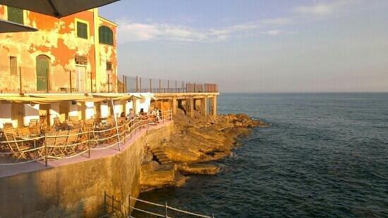 La Marinetta: vista dal ristorante