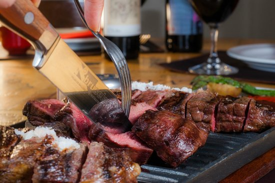Bruselas Steak House: Degustación de carnes-