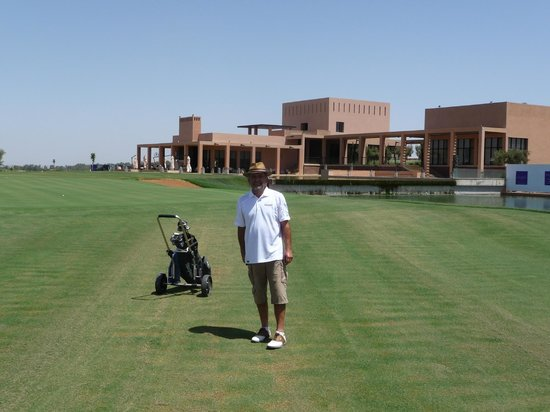 Al Maadan Golf Resort : sur le 18