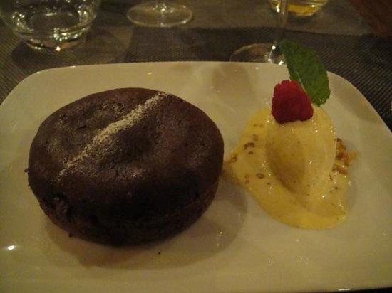 Geoffroy l'Olive: Le moelleux au chocolat noir intense *+!!!