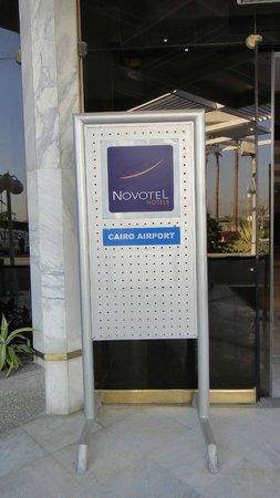 Novotel Cairo Airport: Hotel's exterior