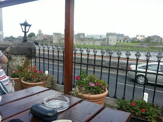 The Curragower Bar & Restaurant: view from beer garden