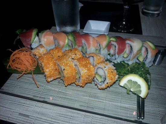 Nishi Restaurant: Sushi plate at Nishi