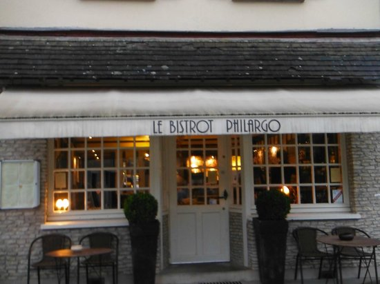 Bistrot Philargo : It a nice restaurant in a lovely little town.