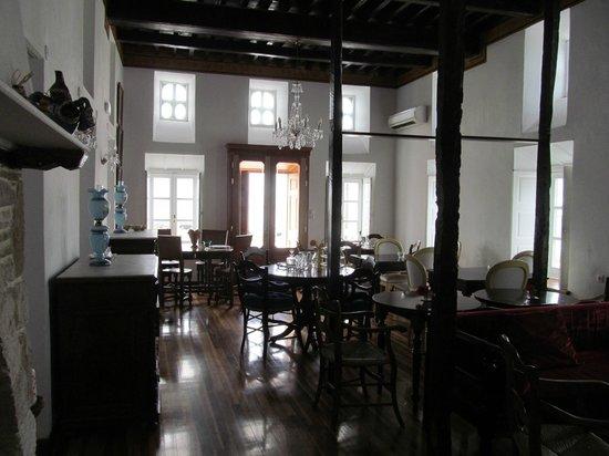 Despotiko Hotel Mykonos: Lounge near lobby