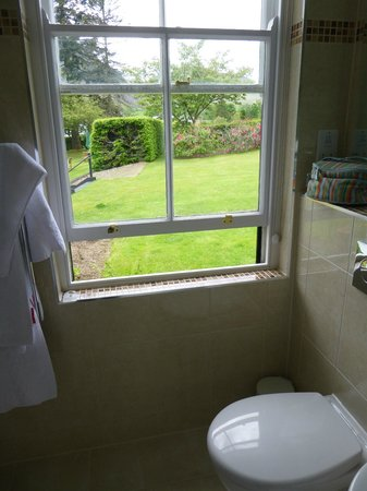 Macdonald Swan Hotel: Loo with a view