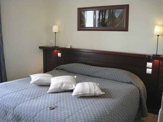 La Villefromoy : grosses Bett