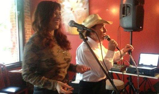 Michelle & Nello duo at Square Root in Hendersonville NC