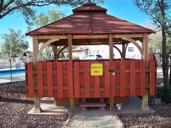 Pueblo KOA: Adults only hot tub