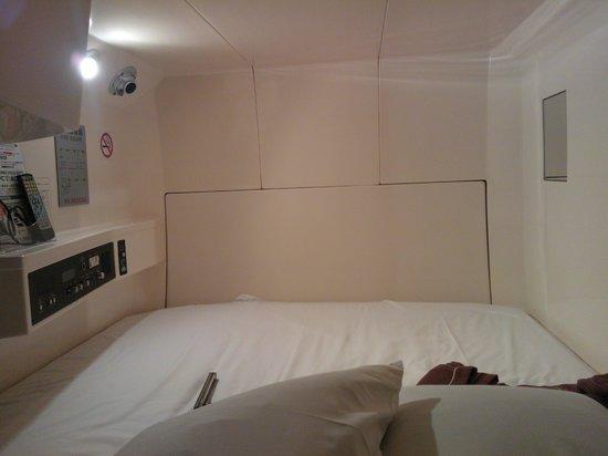 Tokyo Kiba Hotel: Capsule Room