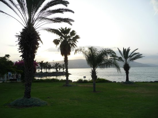 Maagan Kibbutz Holiday Village : Blick auf den See Genezareth