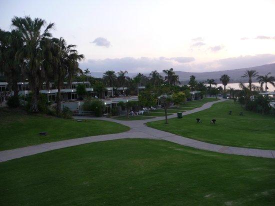 Maagan Kibbutz Holiday Village : Grünanlage