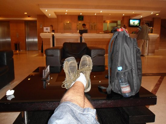 LAICO l'Amitie Hotel: Best place to hang around-the lounge area.