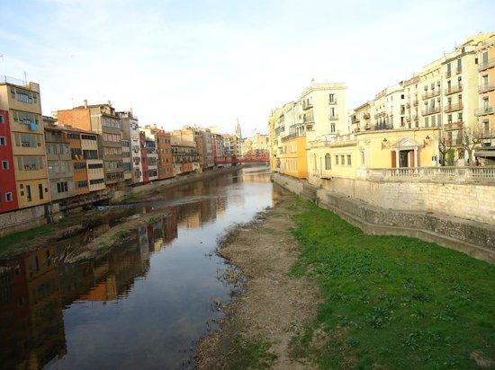 Catedral de Girona: Rio Ter a su paso por Gerona